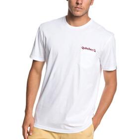 Quiksilver Art Tickle Pocket T-shirt Homme, white